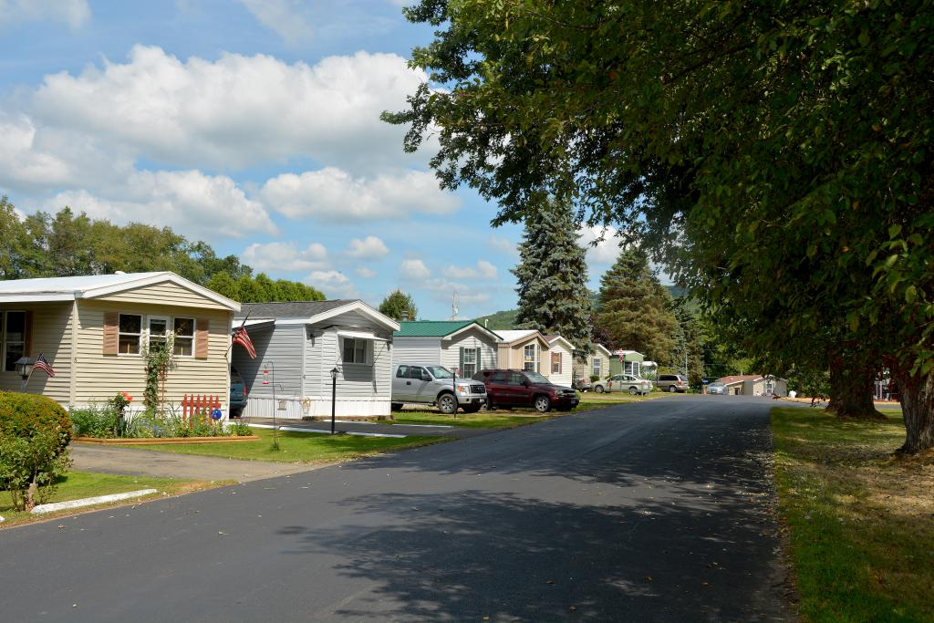 colonial village  manufactured homes in allegany  ny